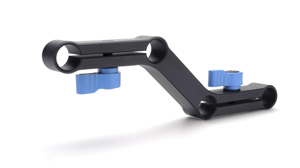 15mm offset riser for DSLR camera rigs, microLink4 Riser