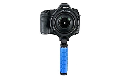 Single hand grip DSLR camera support