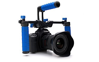 DSLR Camera rig, handheld, Low Down Deluxe