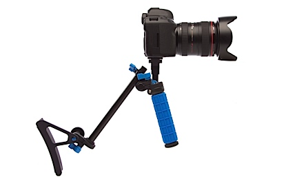DSLR camera rig, handheld, RunningMan